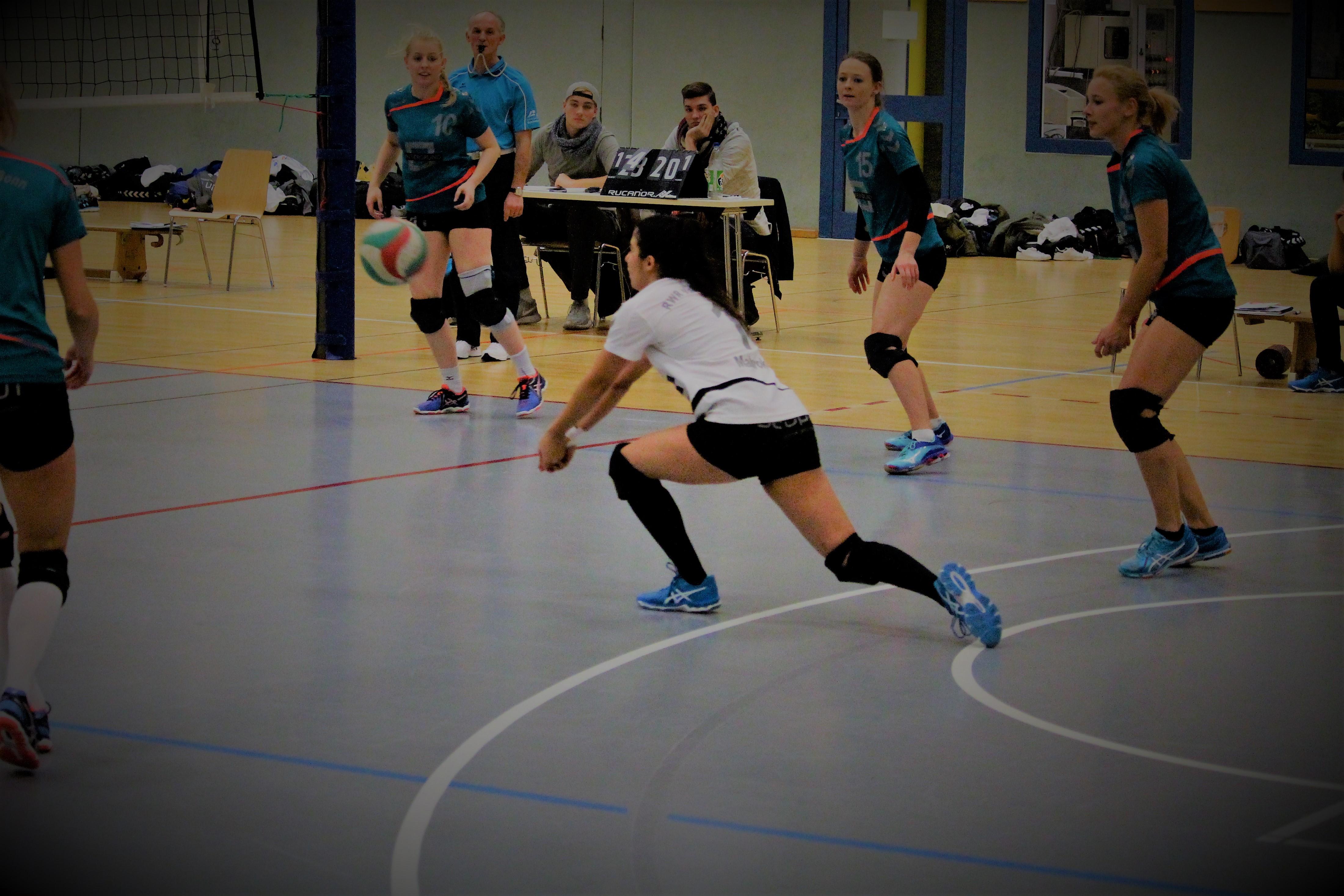 Libero beim Volleyball