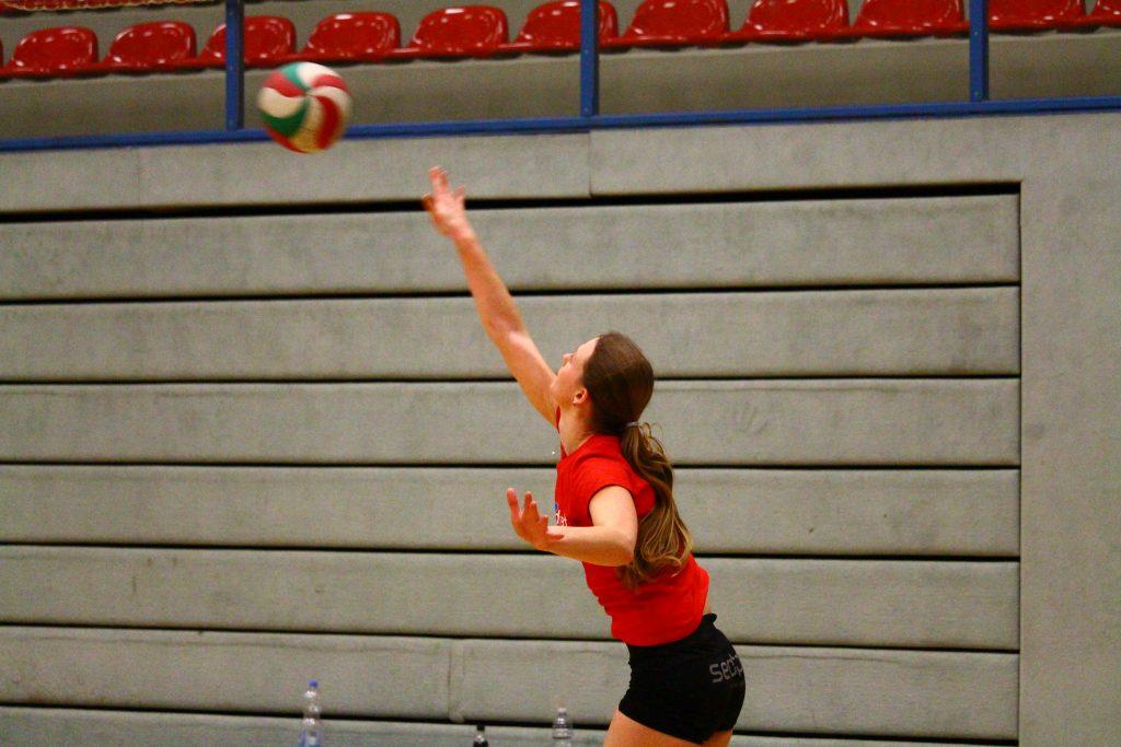 Aufschlagarten beim Volleyball