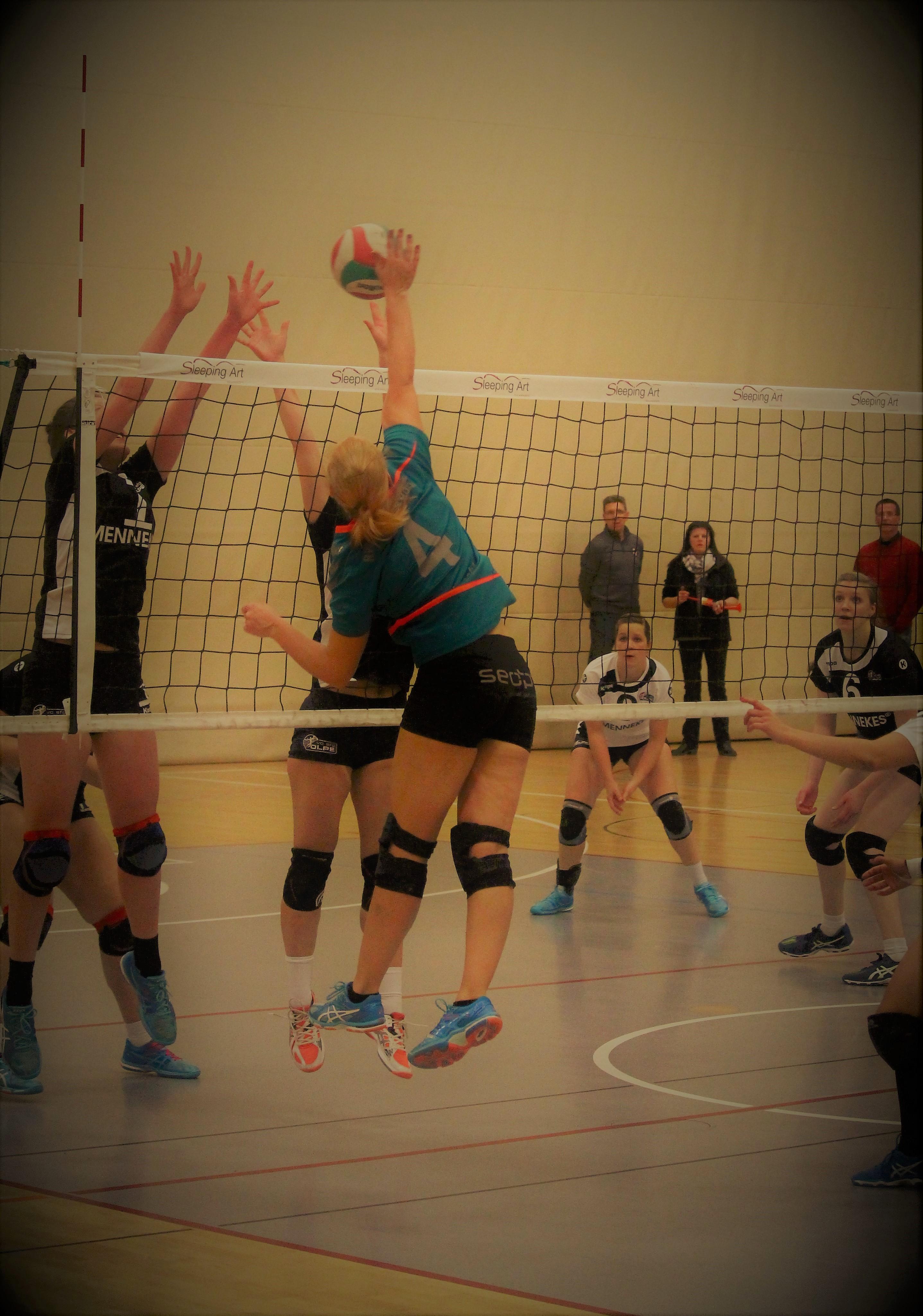 Außenangreifer Volleyball