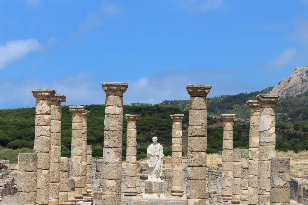 Der Tempel in Baelo Claudia