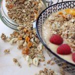 Schnelles Mango-Cashew Granola