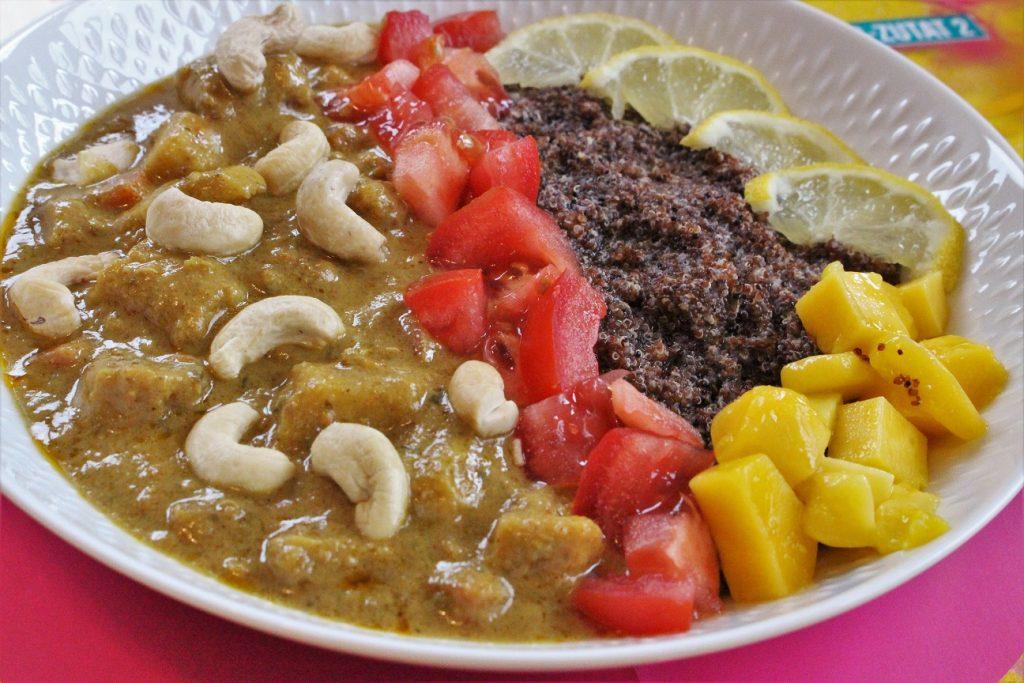 Schnelles Thai Curry mit Gemüse